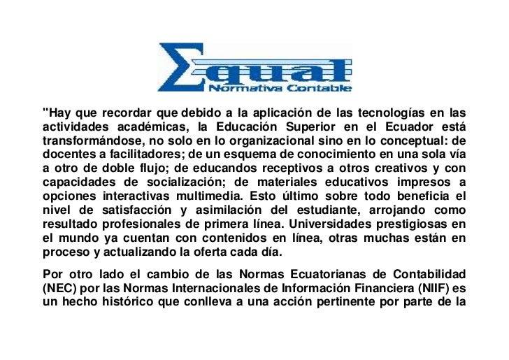 Equal Normativa Ediabaco