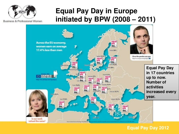 Equal Pay Day Activities Equal Pay Day in