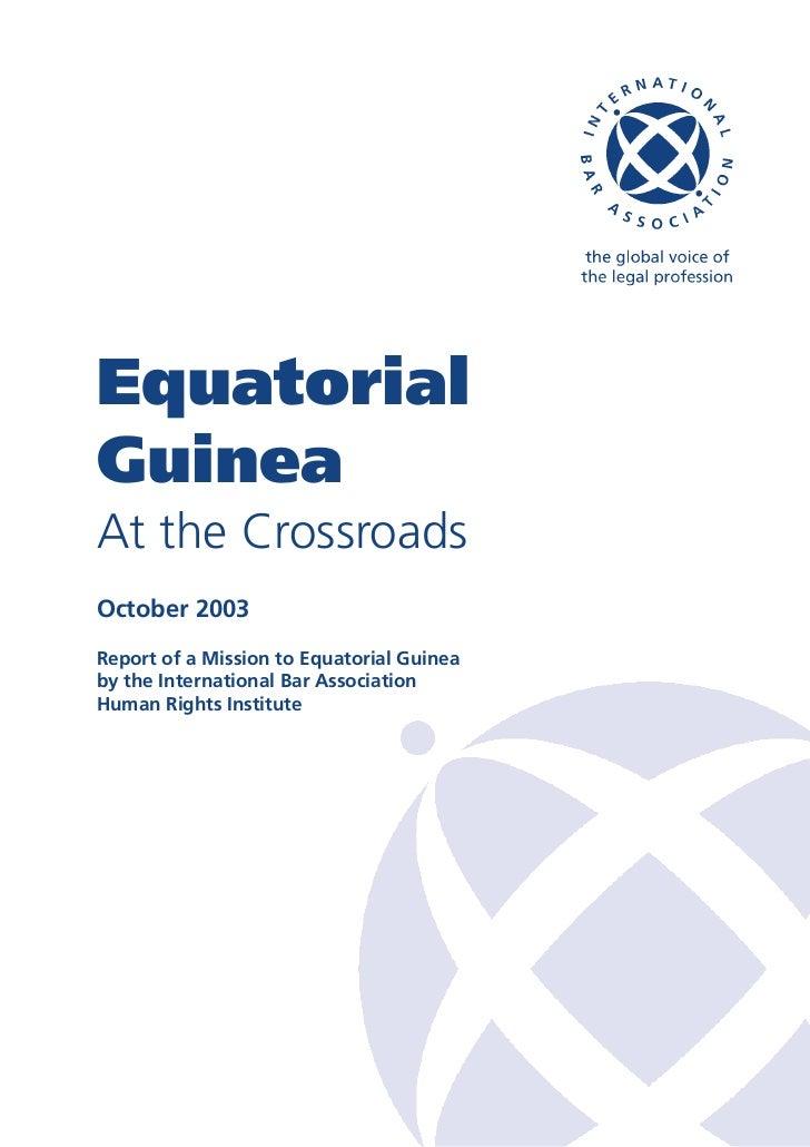 Equatorial guinea report_english