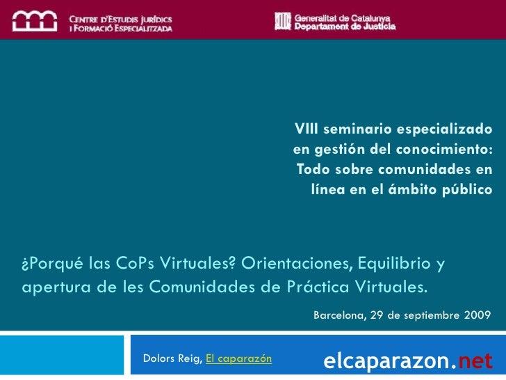 VIII seminario especializado                                            en gestión del conocimiento:                      ...