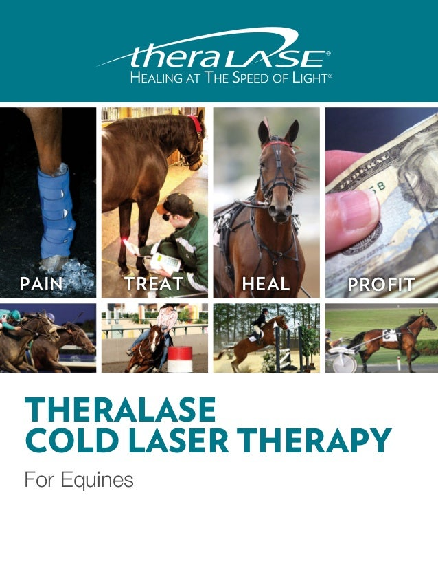 PAIN     TREAT   HEAL   PROFITTHERALASECOLD LASER THERAPYFor Equines