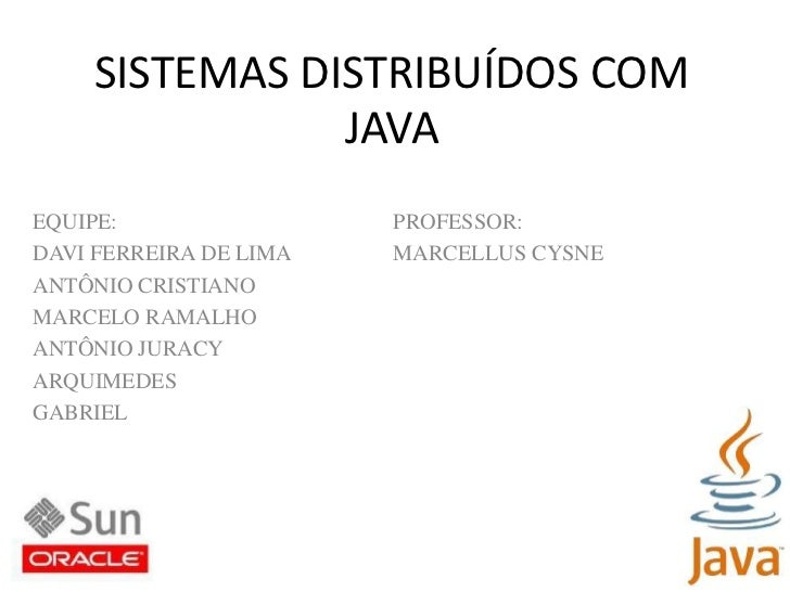 Sistemas Distribuidos Java