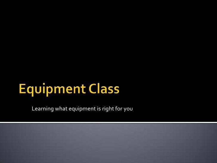 Basics on Photography Equipment - San Diego Photography Classes