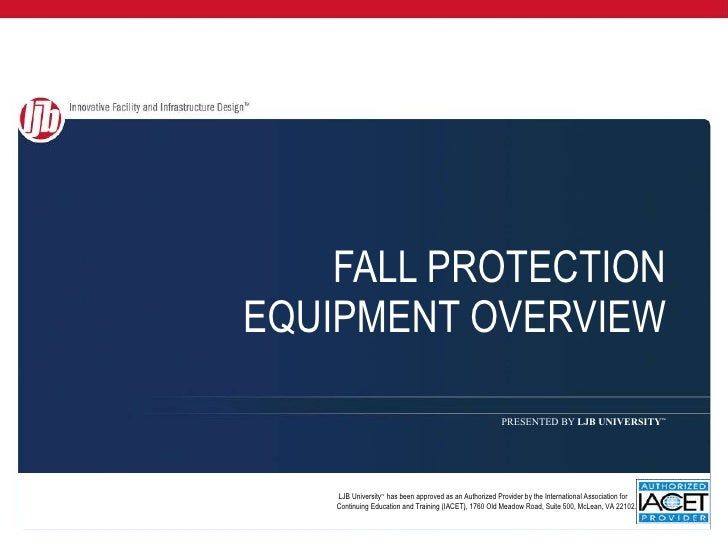 Fall Protection Equipment Overview