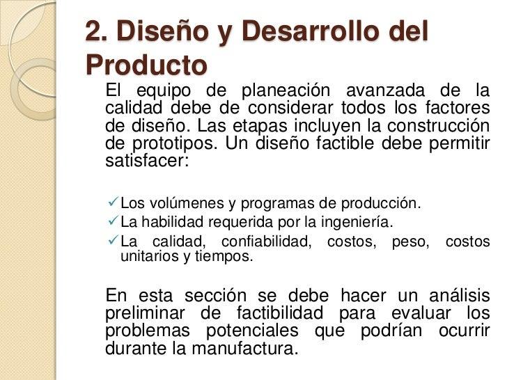 2. Diseño y desarrollo del producto