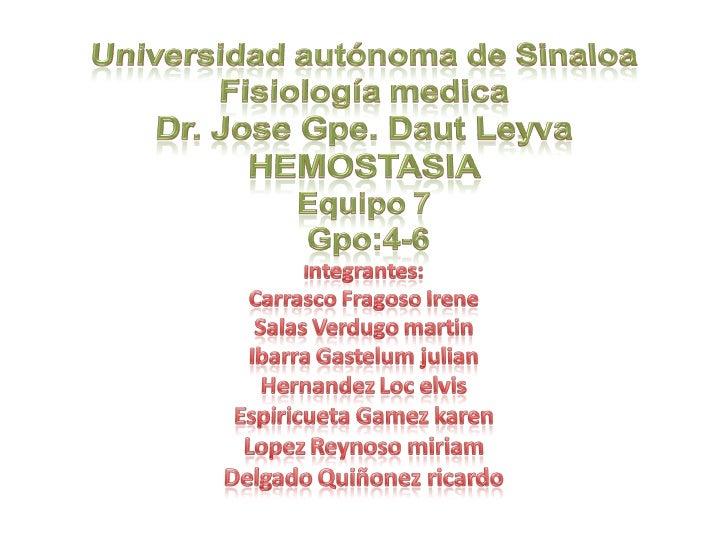 Equipo 7 Hemostasia Grupo Iv 6