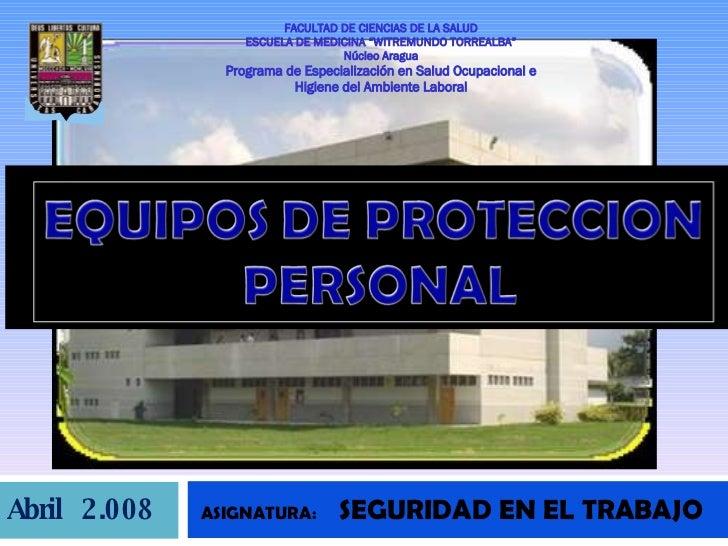 Equipos De Proteccion