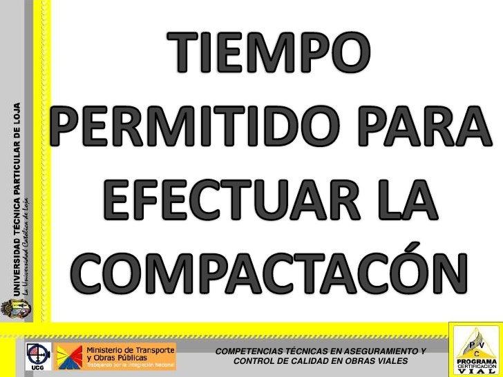 EQUIPOS DE COMPACTACIÓN - (SECCIÓN 6-2)