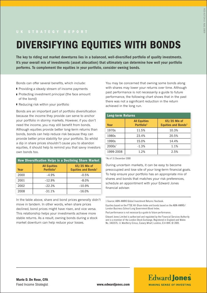 Equity And Bonds report