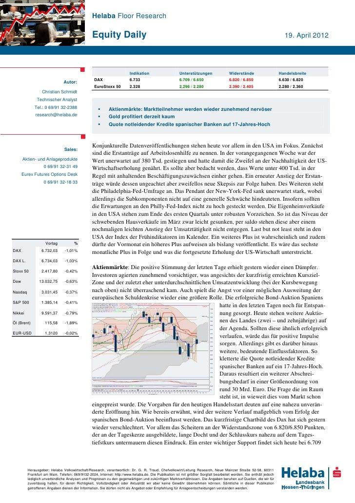 Helaba Floor Research                                                Equity Daily                                         ...