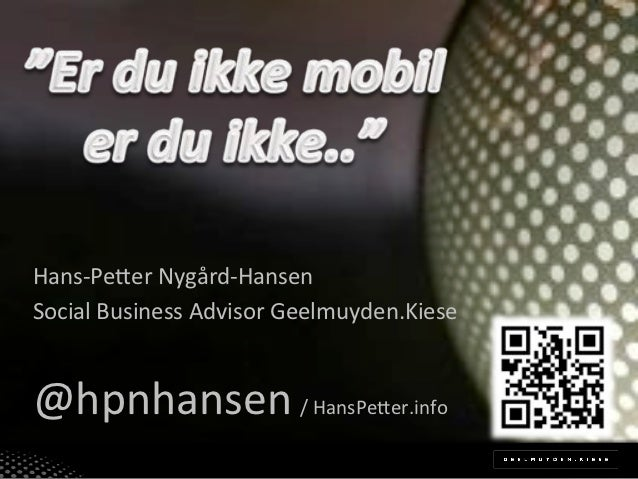 Mobile Trender - Young Retailers under Oslo Innovation Week