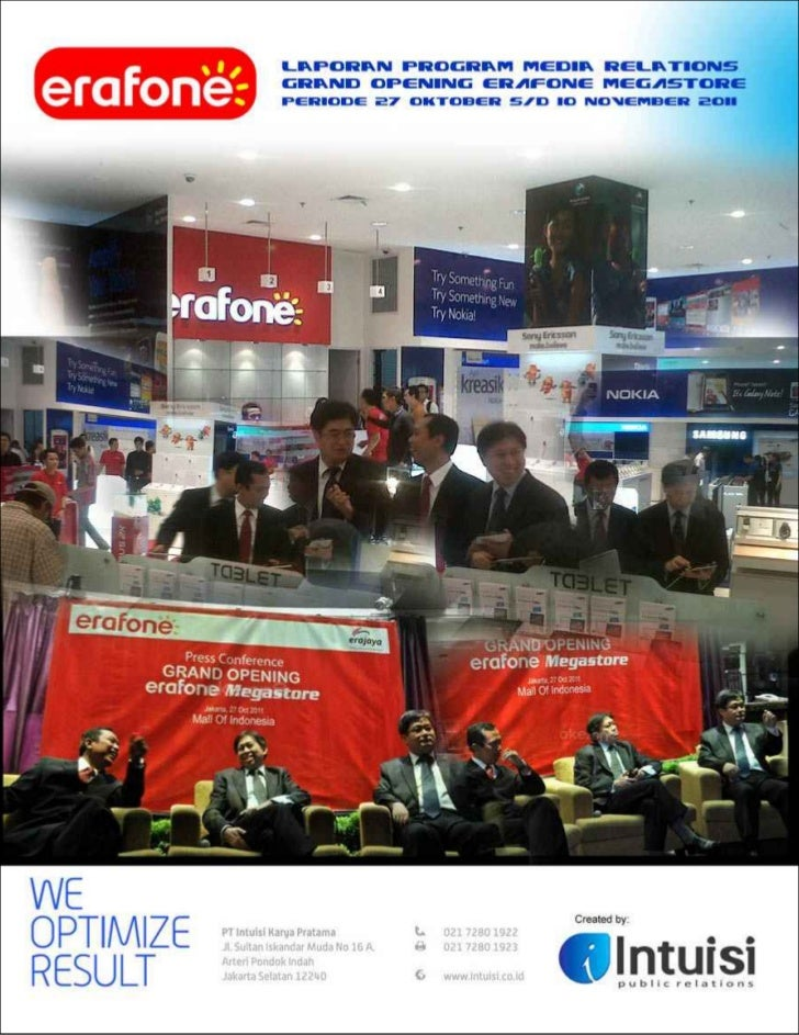 Media Content AnalysisMedia         :   Majalah ForumHeadline      :   Erafone MegastoreEditor        :   faridTime       ...