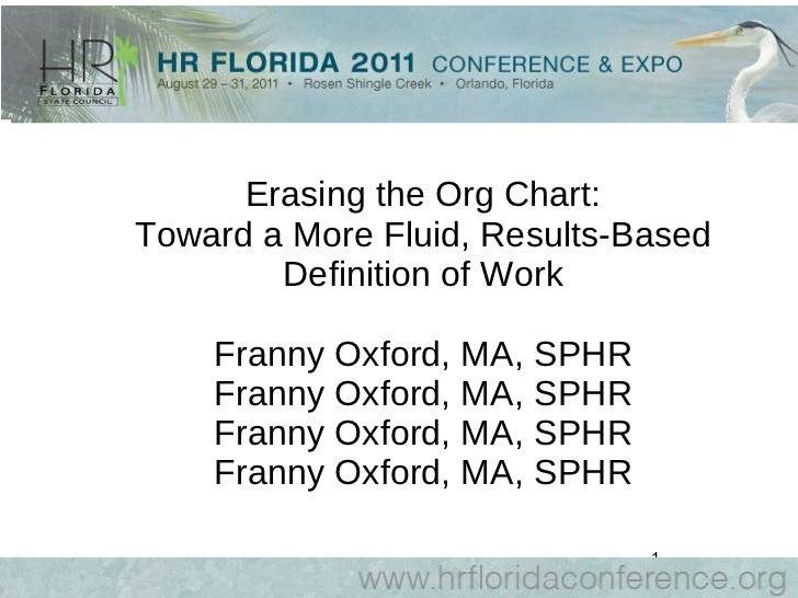 Oxford - Erasing the org chart