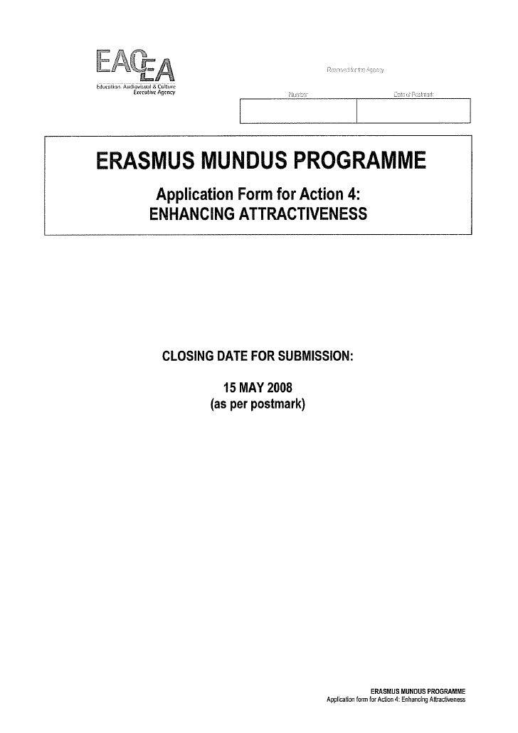 Erasmus Mundus Action 4 Unica Youth Agora Short