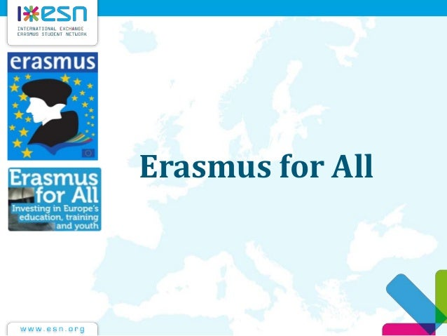 Erasmus for all cnr may2012