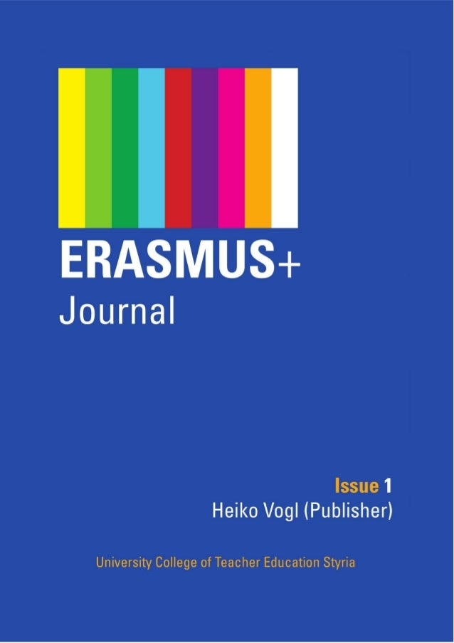 Erasmus+ Journal (Issue 1) Published : 2014-07-10 License : CC BY 2