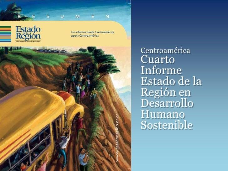 Cuarto Informe Estado de la Región. el Salvador