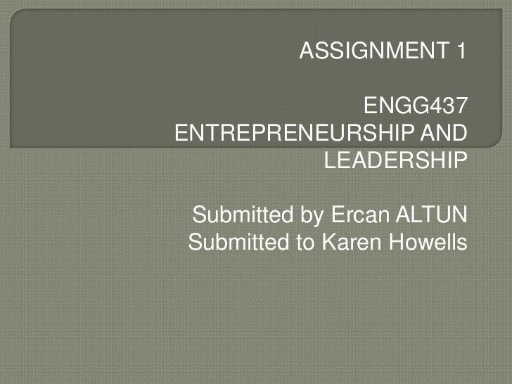 Ercan altun assignment 1
