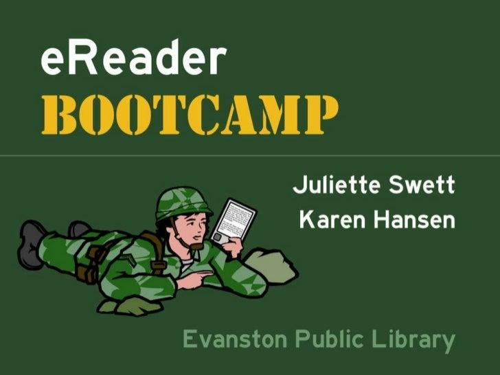 eReader Boot Camp