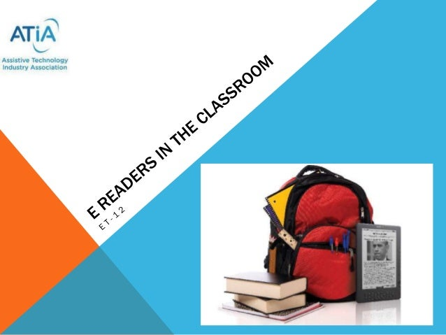 E readers in the classroom