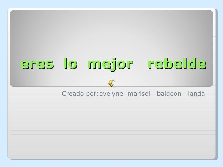 Lo mejor de Rebelde
