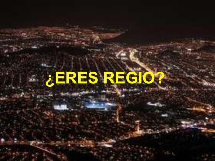 Eres regio