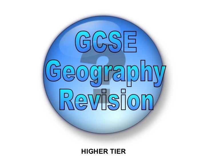Geography Revision Pack AQA/Edexcel