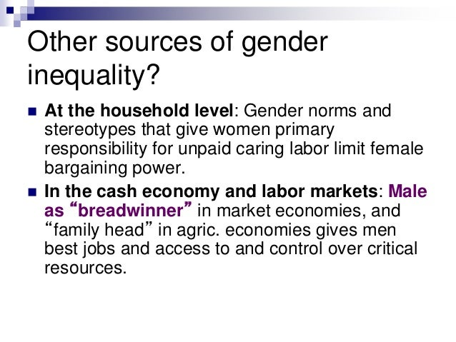 a review of gender stereotypes in society Gender roles and society gender roles are based on the different expecta- tions that individuals, groups, and societies have of individuals based on their sex and.