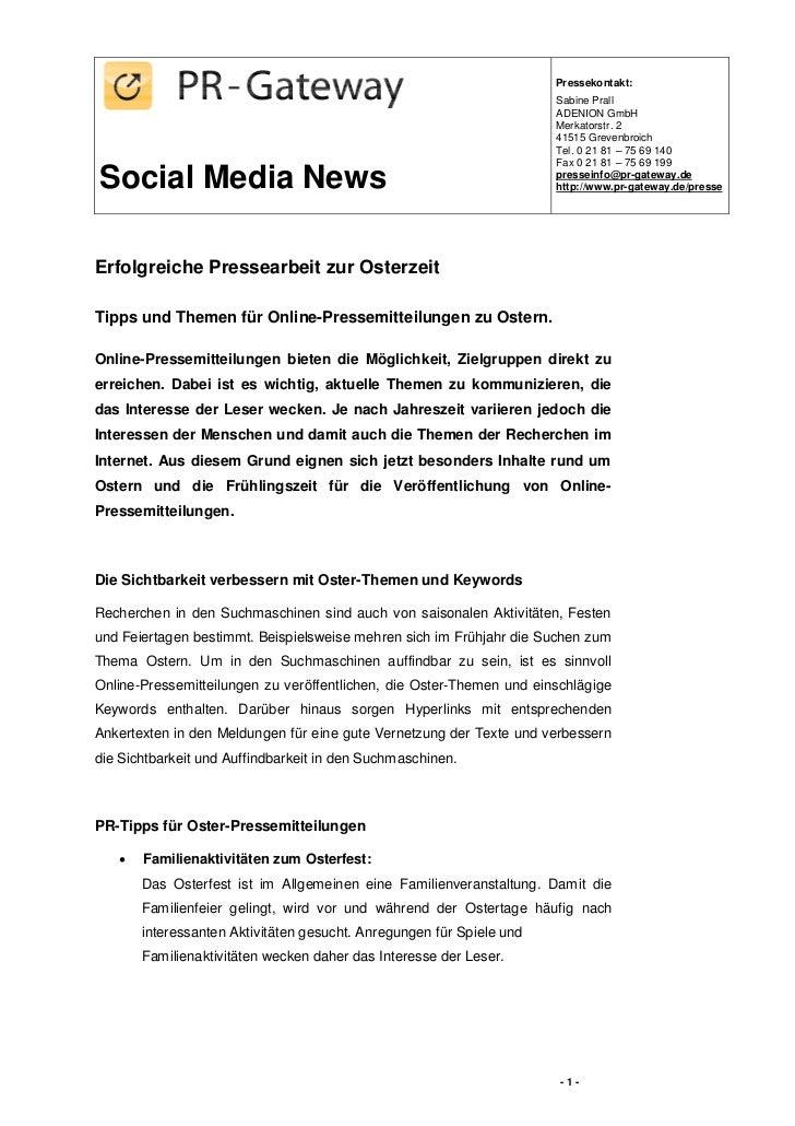 Pressekontakt:                                                                       Sabine Prall                         ...