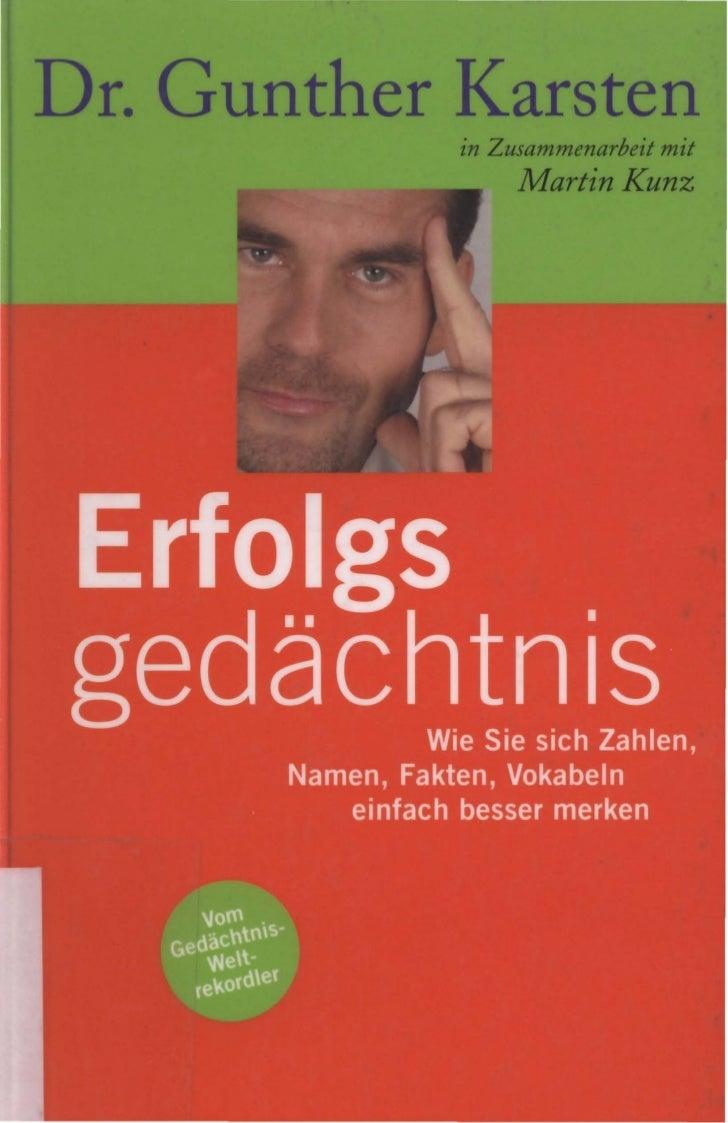 Dr. Gunther Karsten            in Zusammenarbeit mit                 Martin Kunz