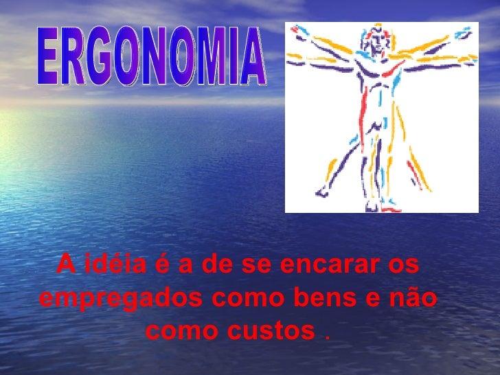 TREINAMENTO DE ERGONOMIA