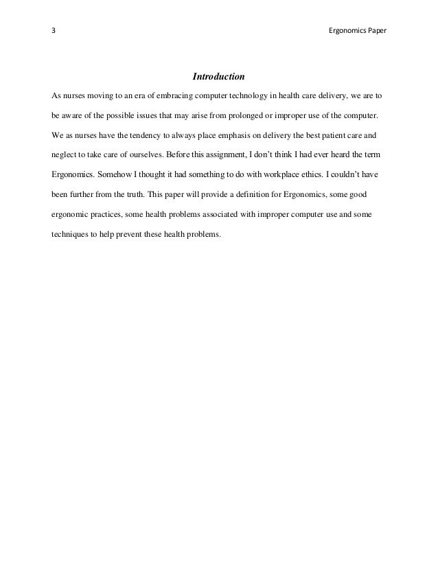ergonomics in clerical environments essay What is ergonomics and employers should guarantee the safety of machinery to make the employees work in a safety environment office ergonomics essay.