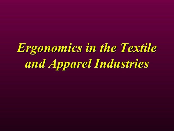 Ergonomics In The Textile Industry 1223539106896608 9