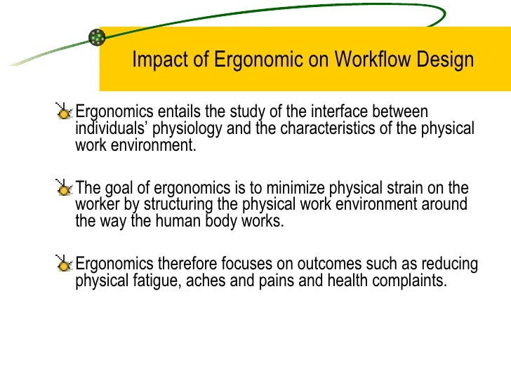 an introduction to the work environment in ergonomics Introduction to ergonomics / human factors engineering, seventh edition / edition 7 by karl he kroemer | read reviews fitting the human: introduction to.