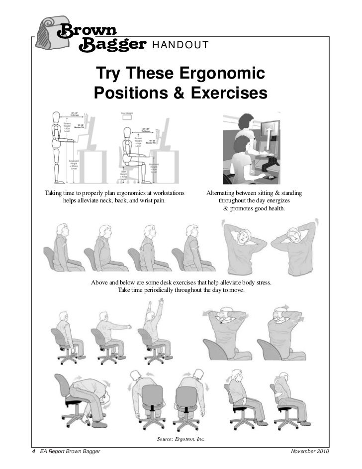 Ergonomics and Workplace Wellness_Brown Bagger_2010