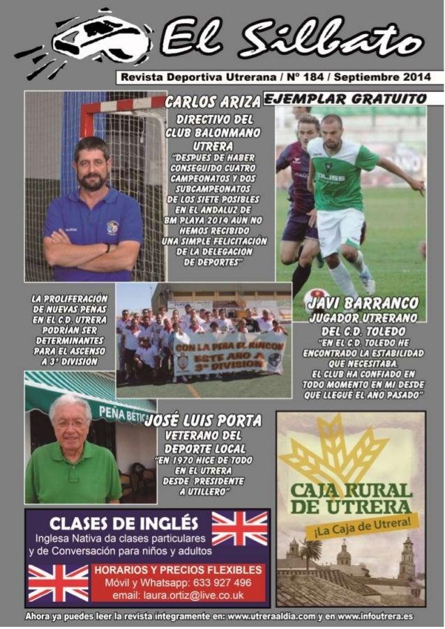 El Silbato  Revista Deportiva Utrerana Nº 184  EL C.D. UTRERA EN LA HISTORIA DEL CÓRDOBA, C.F.  ace sesenta años, en el te...