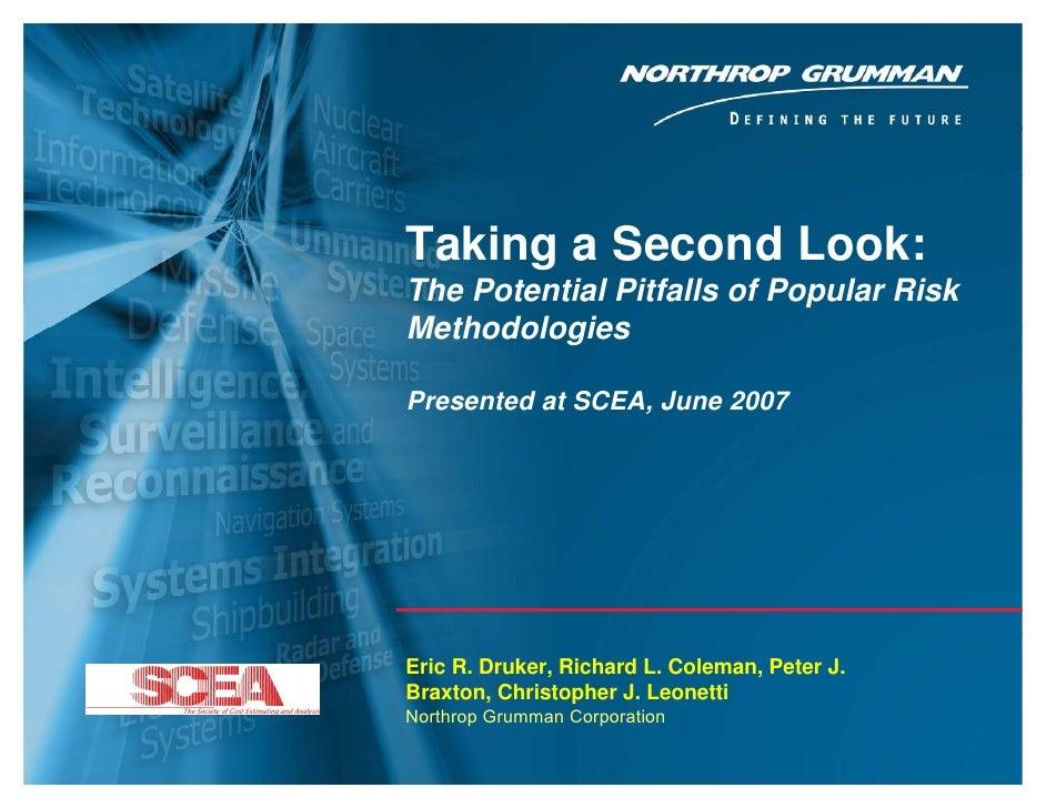 SCEA 2007, ERD, RLC, PJB, CJL                                             Taking a Second Look:                           ...
