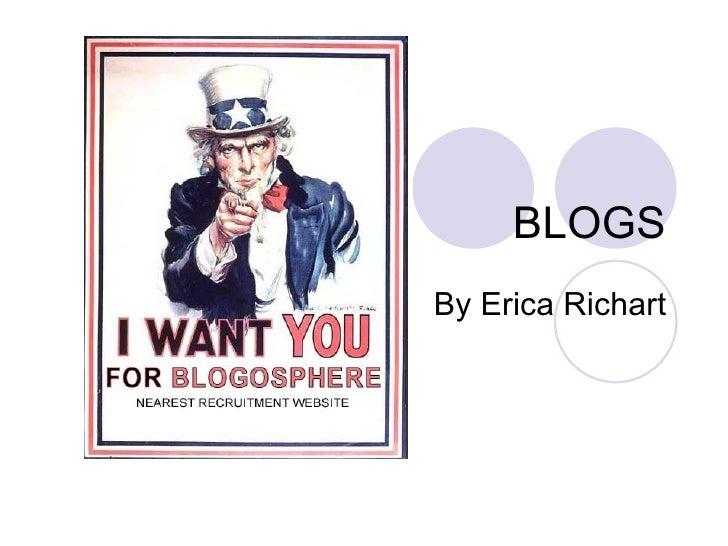 BLOGS By Erica Richart
