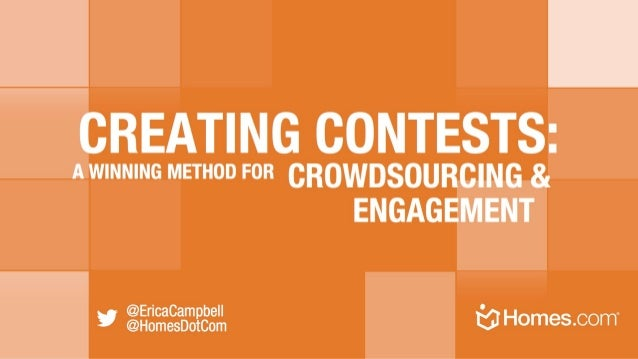 Creating Contests: A Winning Method for Crowdsourcing & Engagement