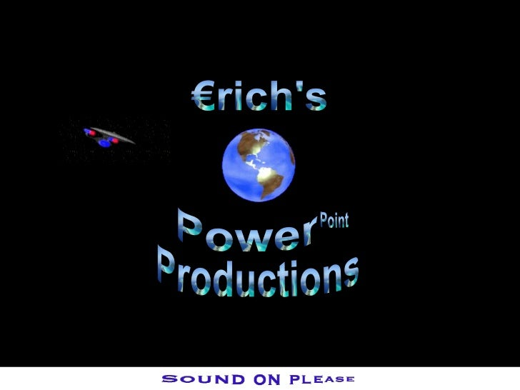 Power Point Productions €rich's