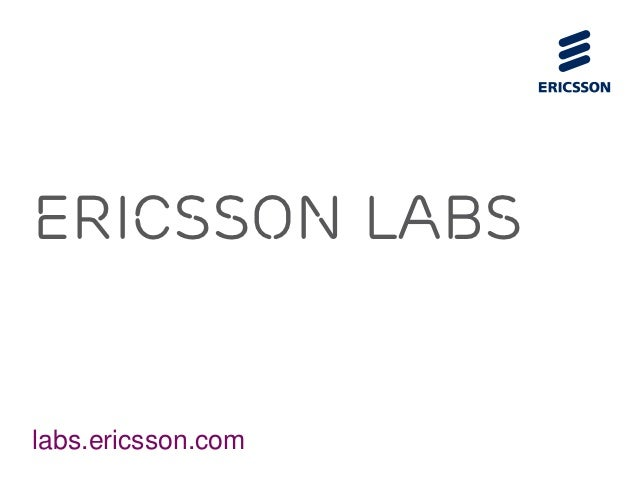 An Overview of All Ericsson Labs APIs