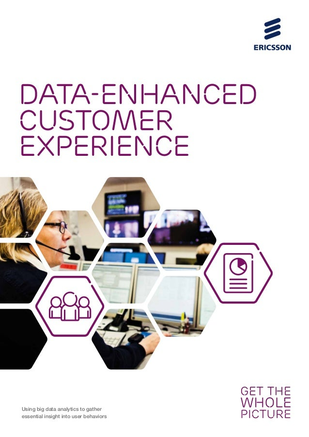 DATA-ENHANCED CUSTOMER EXPERIENCE Using big data analytics to gather essential insight into user behaviors