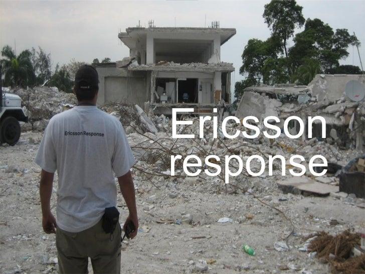 Ericsson response
