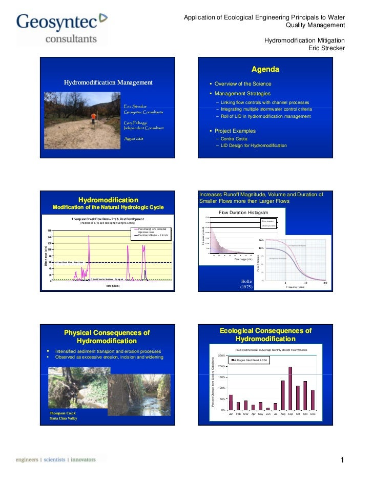 Application of Ecological Engineering Principals to Water                                                                 ...