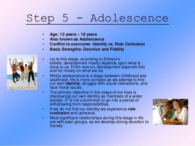 adolescent development identity vs role confusion essays