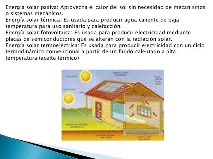Energia Solar Mexico Energía Solar Pasiva