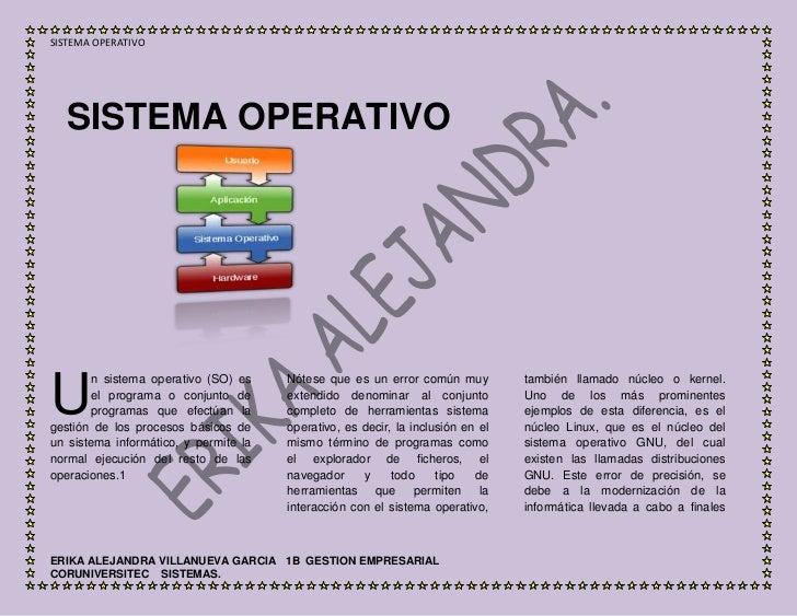 11430071120SISTEMA OPERATIVOSISTEMA OPERATIVO<br />141541573152000<br />U<br />n sistema operativo (SO) es el programa o c...