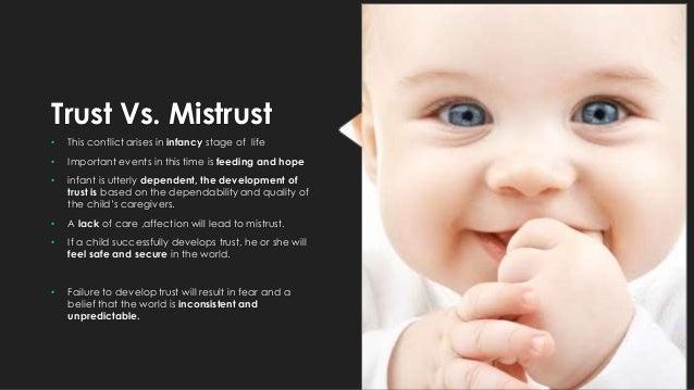trust vs mistrust erikson essays Free essay: erik erikson's theories of development are among trust vs mistrust more about erik erikson's theories of psychosocial development regarding.