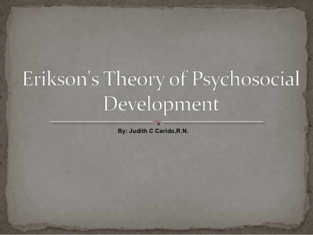 agree with erikson s theory Erikson's theories parents may find helpful  teachers unconsioucly use erikson's theory you guys did a great job  i agree with erikson on behalf of.