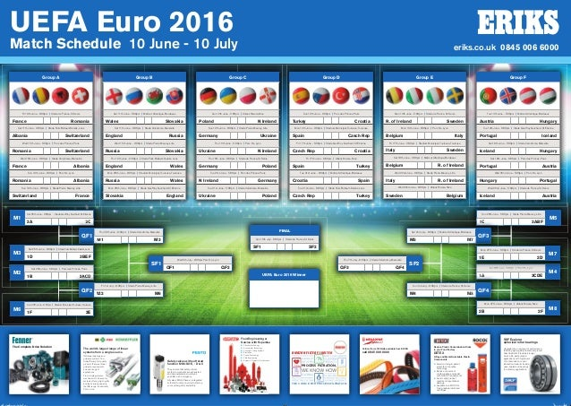 eriks euro 2016 wallchart. Black Bedroom Furniture Sets. Home Design Ideas
